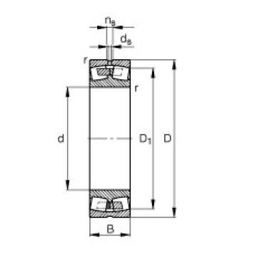 1000 mm x 1580 mm x 462 mm  1000 mm x 1580 mm x 462 mm  FAG 231/1000-B-MB FAG Bearing