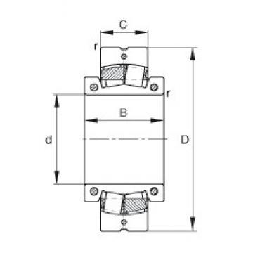 12 7/16 inch x 580 mm x 258 mm  12 7/16 inch x 580 mm x 258 mm  FAG 231S.1207 FAG Bearing