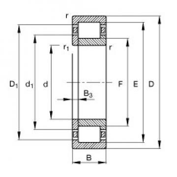 110 mm x 200 mm x 53 mm  110 mm x 200 mm x 53 mm  FAG NUP2222-E-TVP2 FAG Bearing