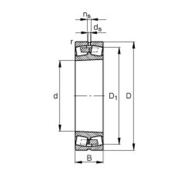 100 mm x 180 mm x 60,3 mm  100 mm x 180 mm x 60,3 mm  FAG 23220-E1A-K-M FAG Bearing