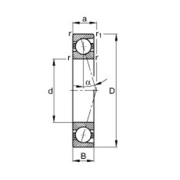 10 mm x 26 mm x 8 mm  10 mm x 26 mm x 8 mm  FAG B7000-C-T-P4S FAG Bearing