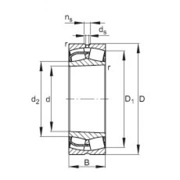 240 mm x 440 mm x 160 mm  240 mm x 440 mm x 160 mm  FAG 23248-E1-K FAG Bearing