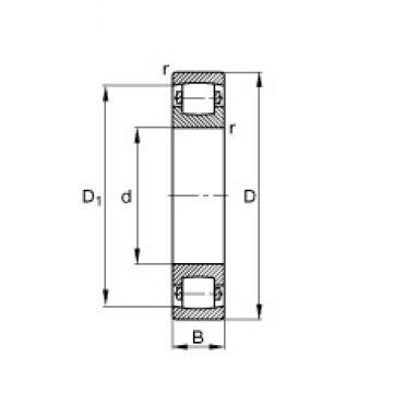 200 mm x 360 mm x 58 mm  200 mm x 360 mm x 58 mm  FAG 20240-MB FAG Bearing