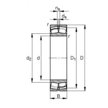 200 mm x 420 mm x 138 mm  200 mm x 420 mm x 138 mm  FAG 22340-E1-JPA-T41A FAG Bearing