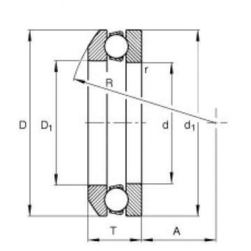 FAG 53220 FAG Bearing