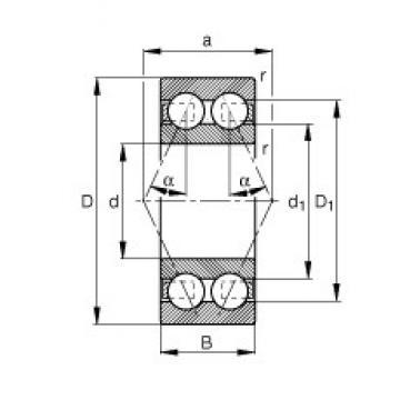 10 mm x 30 mm x 14 mm  10 mm x 30 mm x 14 mm  FAG 3200-B-TVH FAG Bearing