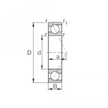 20 mm x 42 mm x 12 mm  20 mm x 42 mm x 12 mm  CYSD 7004C CYSD Bearing