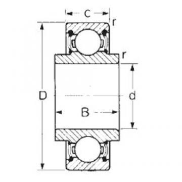 12 mm x 32 mm x 15,4 mm  12 mm x 32 mm x 15,4 mm  CYSD 88501 CYSD Bearing