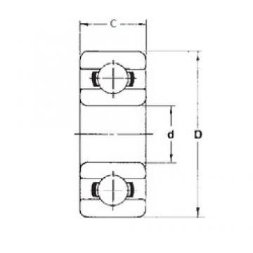 1,984 mm x 6,35 mm x 3,571 mm  1,984 mm x 6,35 mm x 3,571 mm  FBJ R1-4ZZ FBJ Bearing