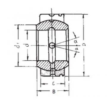 95 mm x 150 mm x 82 mm  95 mm x 150 mm x 82 mm  FBJ GE95XS/K FBJ Bearing
