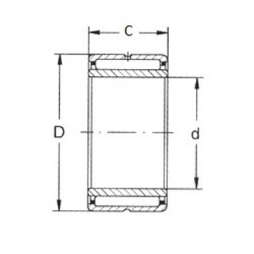 10 mm x 22 mm x 16 mm  10 mm x 22 mm x 16 mm  FBJ NKI 10/16 FBJ Bearing