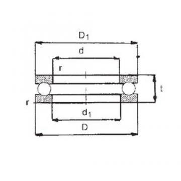 FBJ 51206 FBJ Bearing