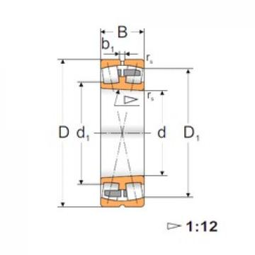 120 mm x 215 mm x 58 mm  120 mm x 215 mm x 58 mm  FBJ 22224K FBJ Bearing