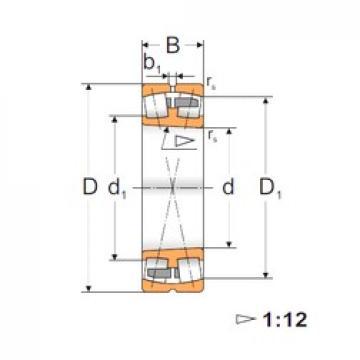35 mm x 72 mm x 23 mm  35 mm x 72 mm x 23 mm  FBJ 22207K FBJ Bearing
