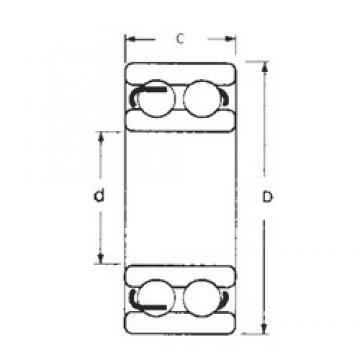 35 mm x 72 mm x 23 mm  35 mm x 72 mm x 23 mm  FBJ 4207ZZ FBJ Bearing
