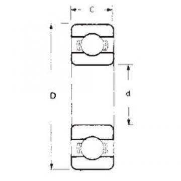 10 mm x 30 mm x 9 mm  10 mm x 30 mm x 9 mm  FBJ 6200 FBJ Bearing