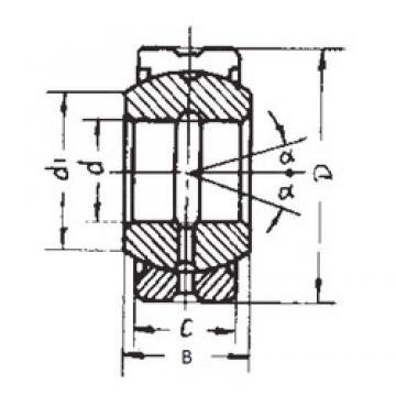 35 mm x 62 mm x 35 mm  35 mm x 62 mm x 35 mm  FBJ GEG35ES-2RS FBJ Bearing