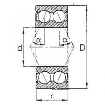 50 mm x 110 mm x 44,4 mm  50 mm x 110 mm x 44,4 mm  FBJ 5310ZZ FBJ Bearing