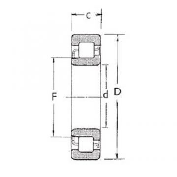 100 mm x 180 mm x 34 mm  100 mm x 180 mm x 34 mm  FBJ NJ220 FBJ Bearing