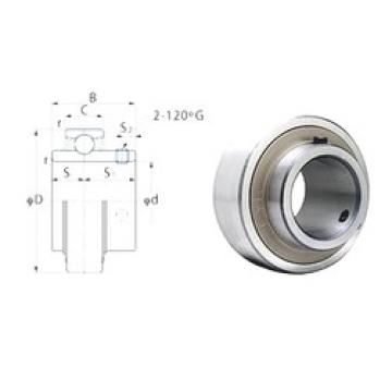 28,575 mm x 62 mm x 38,1 mm  28,575 mm x 62 mm x 38,1 mm  FYH RB206-18 FYH Bearing