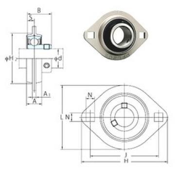 FYH SBPFL205-16 FYH Bearing