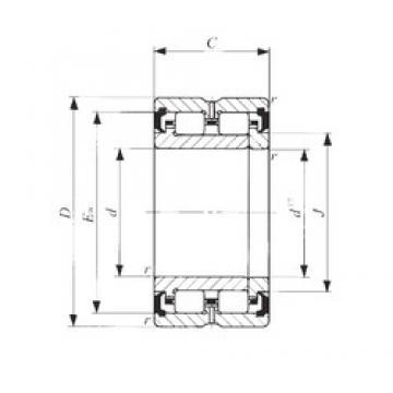 17 mm x 34 mm x 25 mm  17 mm x 34 mm x 25 mm  IKO TRU 173425UU IKO Bearing