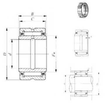 28,575 mm x 47,625 mm x 25,65 mm  28,575 mm x 47,625 mm x 25,65 mm  IKO BRI 183016 IKO Bearing