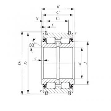 100 mm x 150 mm x 67 mm  100 mm x 150 mm x 67 mm  IKO NAS 5020UUNR IKO Bearing