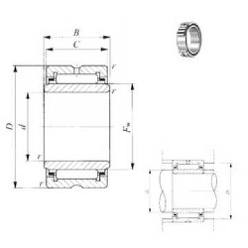 17 mm x 34 mm x 25,5 mm  17 mm x 34 mm x 25,5 mm  IKO TRI 173425 IKO Bearing