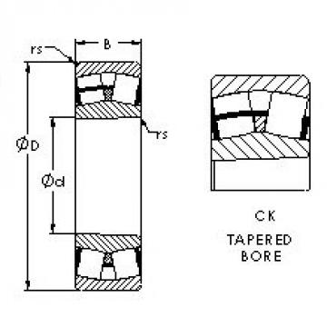 AST 22212CK AST Bearing