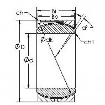AST GEH400HC AST Bearing