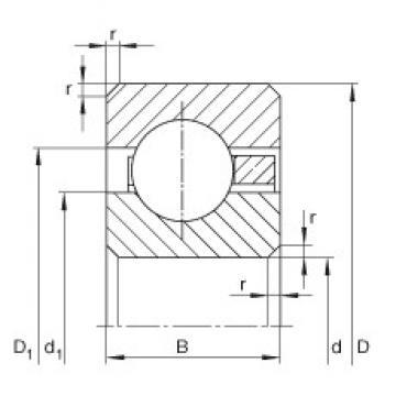 5 1/2 inch x 158,75 mm x 9,525 mm  5 1/2 inch x 158,75 mm x 9,525 mm  INA CSCC055 INA Bearing