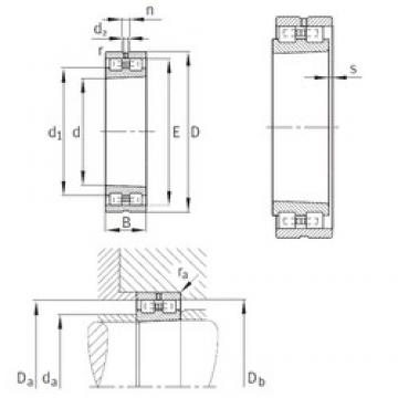 480 mm x 700 mm x 165 mm  480 mm x 700 mm x 165 mm  INA NN3096-AS-K-M-SP INA Bearing
