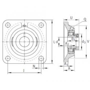 INA PCJ1-3/16 INA Bearing