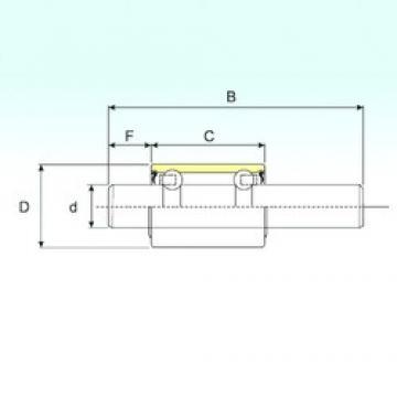 15,918 mm x 30 mm x 133,1 mm  15,918 mm x 30 mm x 133,1 mm  ISB WB1630133 ISB Bearing