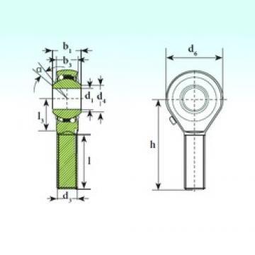 ISB TSM 20 BB-O ISB Bearing