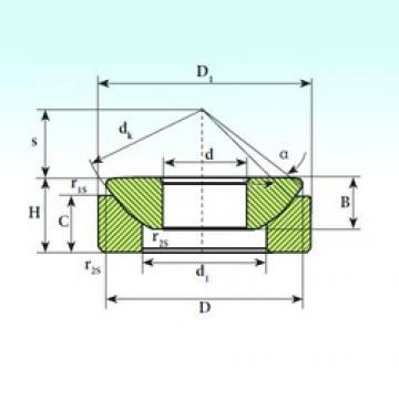 12 mm x 32 mm x 9,5 mm  12 mm x 32 mm x 9,5 mm  ISB GX 12 SP ISB Bearing