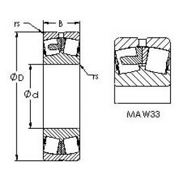AST 22334MAC4F80W33 AST Bearing
