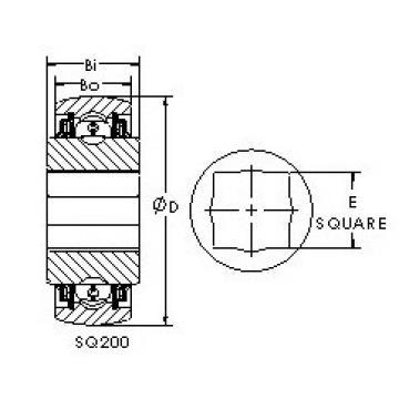 AST SQ209-104 AST Bearing