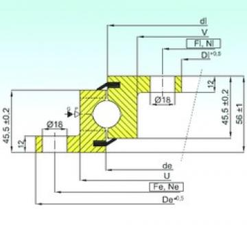 ISB NBL.20.0544.200-1PPN ISB Bearing