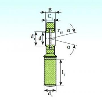 6 mm x 14 mm x 6 mm  6 mm x 14 mm x 6 mm  ISB SA 6 E ISB Bearing