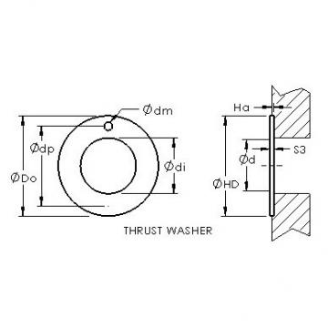 AST ASTEPBW 3254-015 AST Bearing