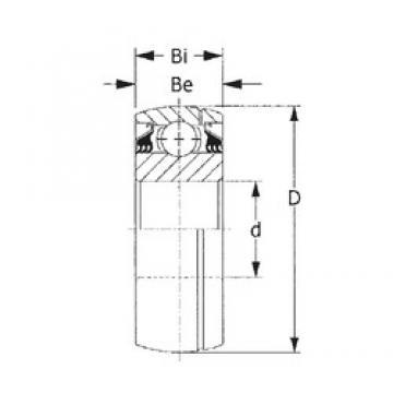 70 mm x 160 mm x 68,26 mm  70 mm x 160 mm x 68,26 mm  CYSD GW315PPB11 CYSD Bearing