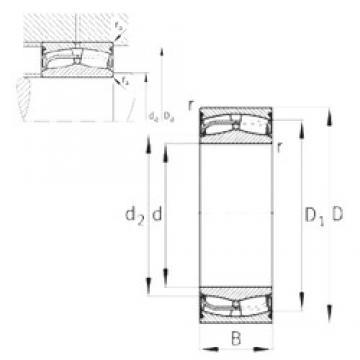 160 mm x 270 mm x 109 mm  160 mm x 270 mm x 109 mm  FAG 24132-E1-2VSR-H40 FAG Bearing