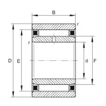 6 mm x 17 mm x 10 mm  6 mm x 17 mm x 10 mm  INA NAO6X17X10-TV-IS1 INA Bearing