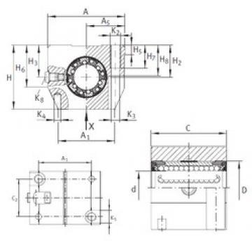 INA KGN 25 C-PP-AS INA Bearing