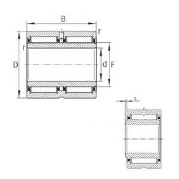 80 mm x 110 mm x 54 mm  80 mm x 110 mm x 54 mm  INA NA6916-ZW-XL INA Bearing