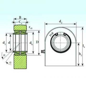 70 mm x 105 mm x 70 mm  70 mm x 105 mm x 70 mm  ISB T.P.N. 770 CE ISB Bearing