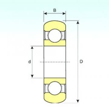 20 mm x 47 mm x 14 mm  20 mm x 47 mm x 14 mm  ISB 6204-2RS BOMB ISB Bearing
