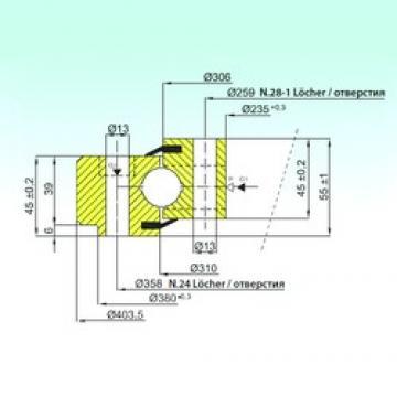 ISB NB1.22.0308.200-1PPN ISB Bearing